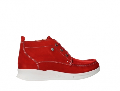 wolky bottines a lacets 05906 six 10570 nubuck extensible rouge_24
