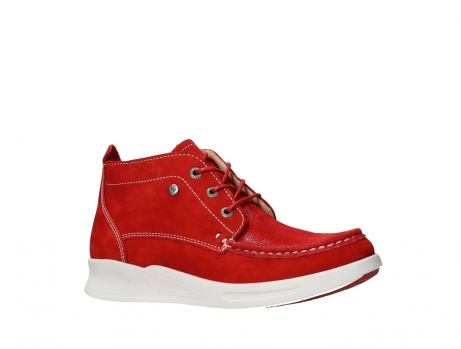wolky bottines a lacets 05906 six 10570 nubuck extensible rouge_3